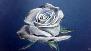 Cómo Dibujar una Rosa al Pastel Técnica de Dibujo al Pastel 300x169 - Selección de Obras de José Manuel Gallego García