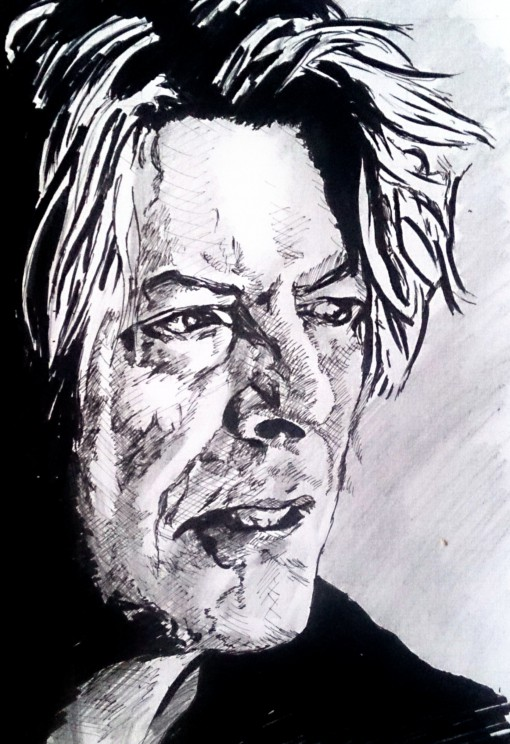David Bowie Autor Jose Manuel Gallego Garcia Todos los Derechos Reservados visita retratarte.org  510x744 - David Bowie, Autor: Jose Manuel Gallego Garcia, Todos los Derechos Reservados, visita: retratarte.org