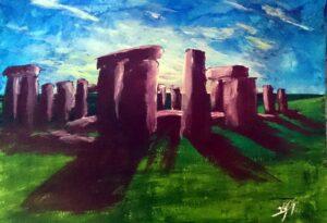 Stonehenge Autor Jose Manuel Gallego Garcia 300x205 - Selección de Obras de José Manuel Gallego García