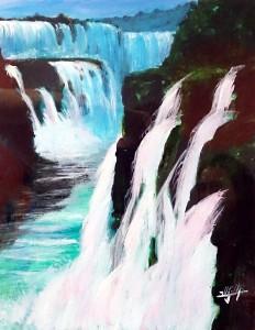 cataratas de Iguazu autor Jose Manuel Gallego Garcia 232x300 - Selección de Obras de José Manuel Gallego García